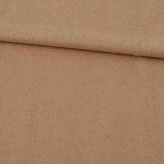 Кашемир пальтовый бежевый светлый ш.152 оптом