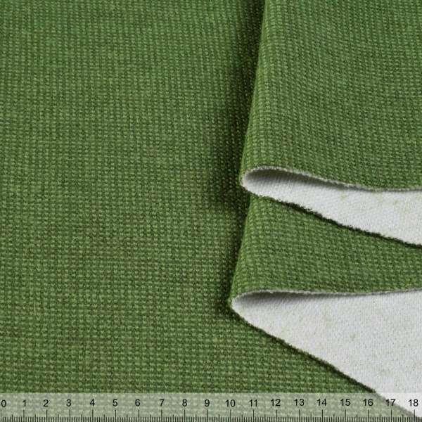 Пальтовый трикотаж двухслойный зеленый (травяной) ш.150 оптом