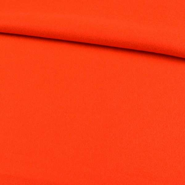 лоден оранжевый яркий, ш.147 оптом