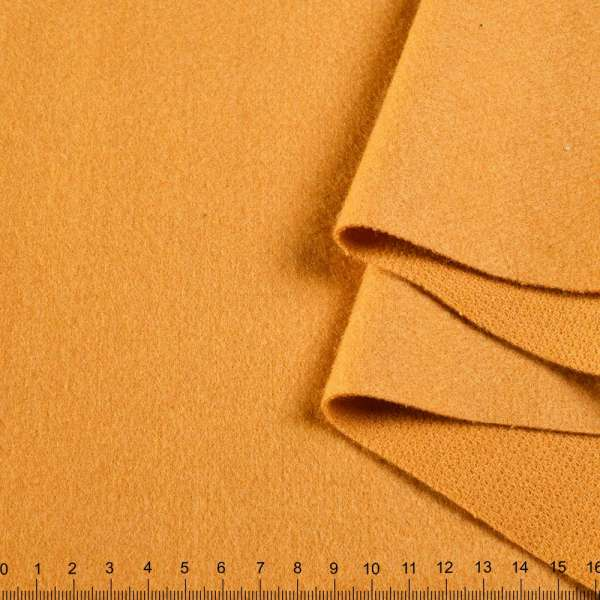 Лоден двухсторонний желтый (янтарный) ш.155 оптом