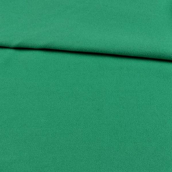 трикотаж пальтовый зеленый, ш.153 оптом
