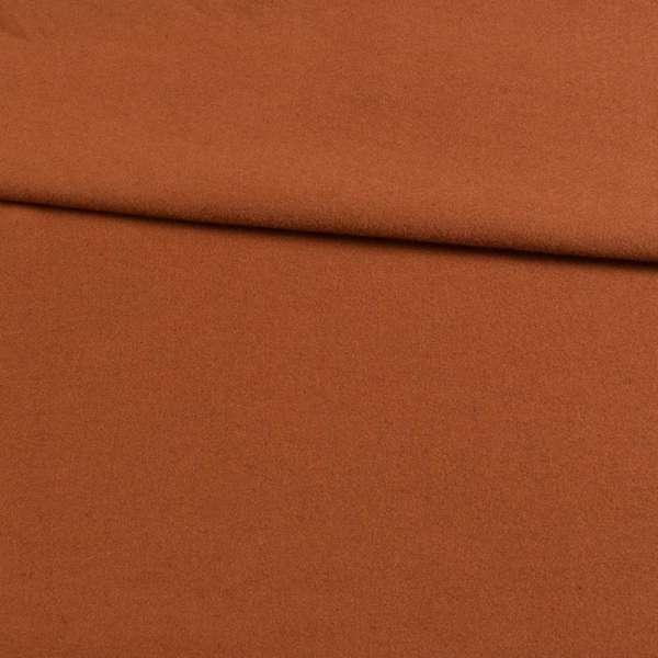 трикотаж пальтовый коричневый, ш.153 оптом