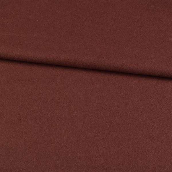 трикотаж пальтовый коричневый с бордовым оттенком, ш.155 оптом