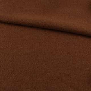 Лоден пальтовий коричневий, ш.155 оптом