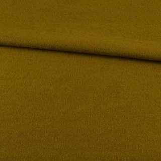 Лоден пальтовий гірчично-зелений, ш.155 оптом