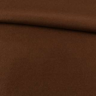 Лоден пальтовий коричневий (відтінок темніше), ш.155 оптом