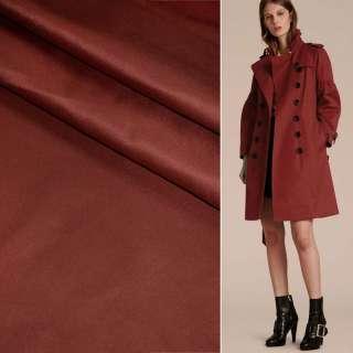 Поливискоза костюмная стрейч бордовая ш.150 оптом