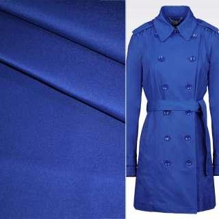 Поливискоза костюмная стрейч синий (электрик) ш.150 оптом