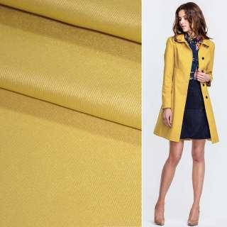 Поливискоза костюмная стрейч грязно-желтая ш.150 оптом
