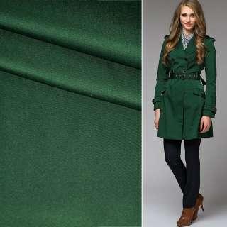 Поливискоза костюмная стрейч зеленая темная ш.150 оптом