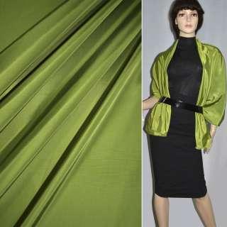 Ткань плащевая зеленая светлая ш.150 оптом