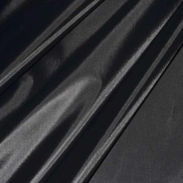 Ткань плащевая черная (тонкая) ш.150 оптом