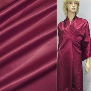 Ткань плащевая красная тонкая, ш.150 оптом