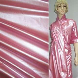 плащевка розовая перламутровая, ш.145 оптом