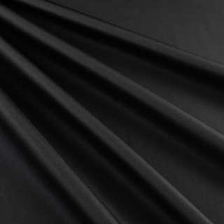 Бондинг (плащевка на трикотажной основе) черный ш.145 оптом