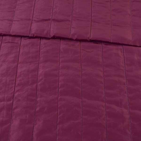 ткань плащевая стеганая лиловая матовая полоска (5 см), ш.150 оптом