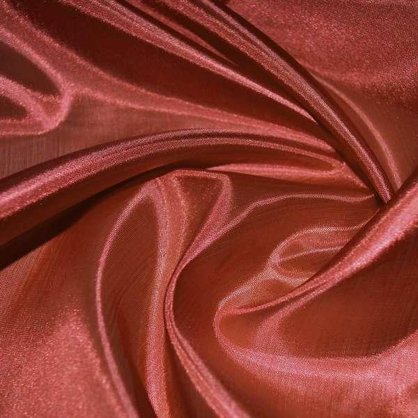 Ацетатный шелк темно-терракотовый ш.150 оптом