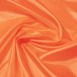 Шелк ацетатный оранжевый темный ш.150