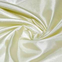Шелк ацетатный бледно-лимонный ш.150