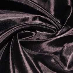 Шелк ацетатный коричневый темный ш.150
