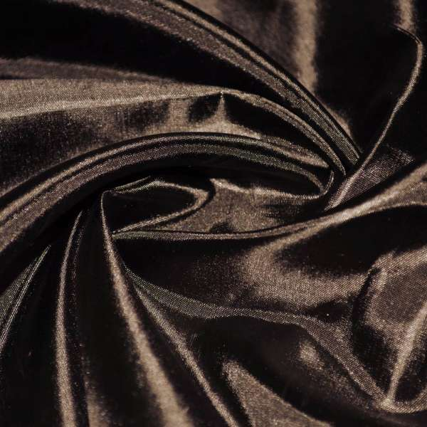 Ацетатный шелк коричневый с черным оттенком ш.150 оптом