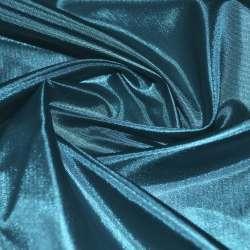 Шелк ацетатный сине-зеленый ш.150