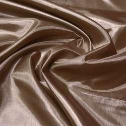 Шелк ацетатный коричневый с розовым отливом ш.150 оптом