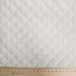 Тканина підкладкова термостьобана молочна (синтепон 100), ш.150 оптом