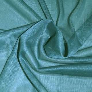 подкладка трикотажная бирюзовая, ш.150 см. оптом