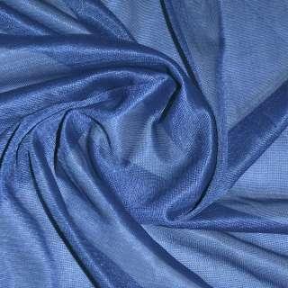 подкладка трикотажная синяя, ш.150 см. оптом