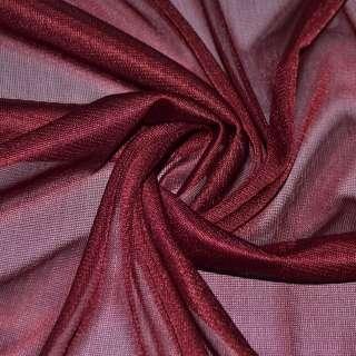 подкладка трикотажная бордовая, ш.150 см. оптом