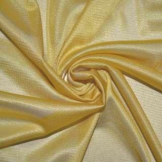 Ткань подкладочная трикотажная золотисто-желтая ш.155 оптом