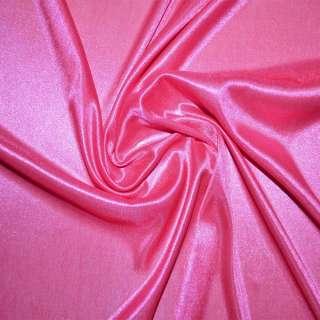 Ткань подкладочная трикотажная фуксия ш.160 оптом