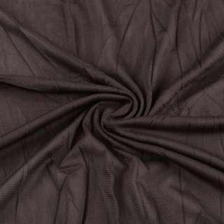 Сетка подкладочная жатая коричневая темная ш.135 оптом
