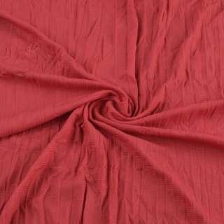 Сетка подкладочная жатая красная ш.130 оптом