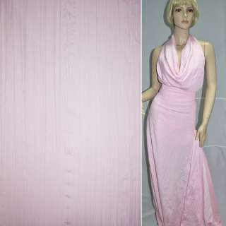 Поплин жатый розовый ш.140 оптом