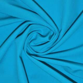 Поплин стрейчевый ярко голубой ш.150 оптом