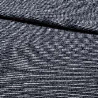 Рогожка сине-белая меланж, ш.150 оптом