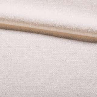 Рогожка молочная с золотым люрексом, ш.150 оптом