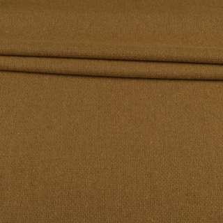 Рогожка костюмна вовняна гірчично-бежева ш.145 оптом