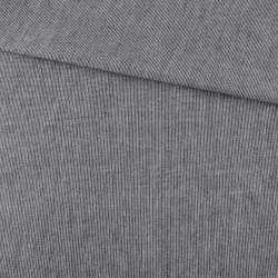 Ткань рубашечная черная меланж ш.145 оптом