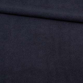 Рогожка синяя микрофибра, ш.154 оптом