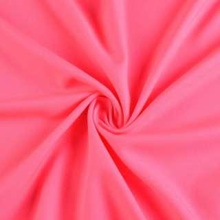 Поликоттон стрейч розовый неон, ш.154 оптом