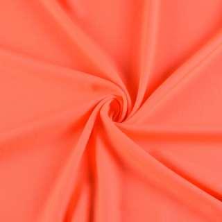 Поликоттон стрейч оранжевый неон, ш.145 оптом