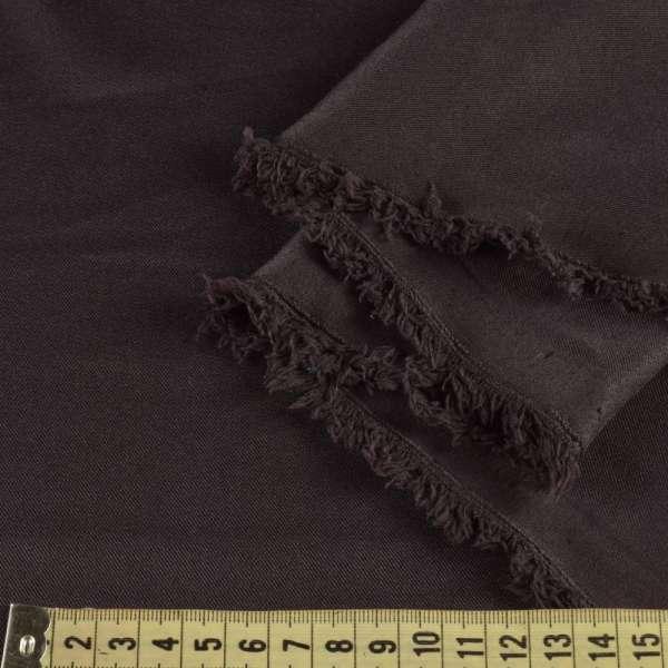 Поликоттон стрейч коричневый темный, ш.155 оптом