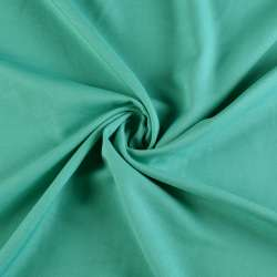 Поликоттон стрейч бирюзово-зеленый, ш.153 оптом