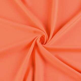 Поликоттон стрейч оранжевый, ш.155 оптом