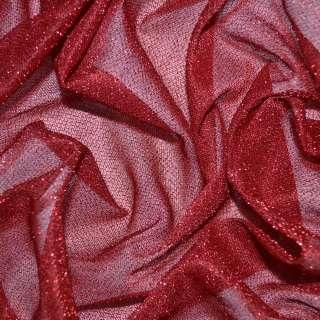 Трикотаж красный с метанитью ш.115 оптом