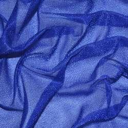 Трикотаж синій з метанітью ш.115