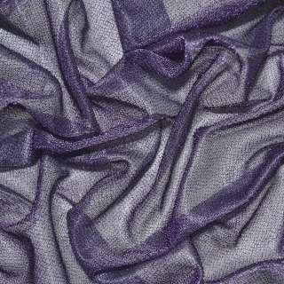 Трикотаж фіолетовий з метанітью ш.115 оптом